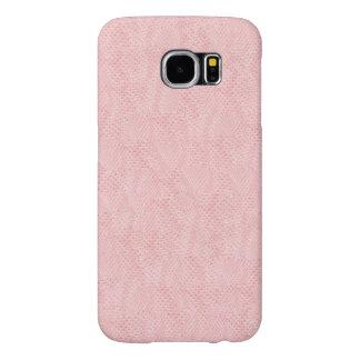 Pink Snake Skin Pattern Samsung Galaxy S6 Cases