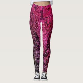 Pink Snake skin style legging. Leggings