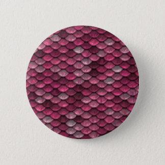 Pink Snakeskin Background 2 Inch Round Button