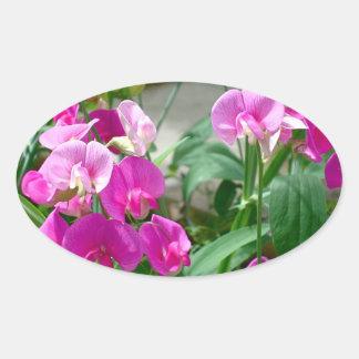 pink snapdragon sticker