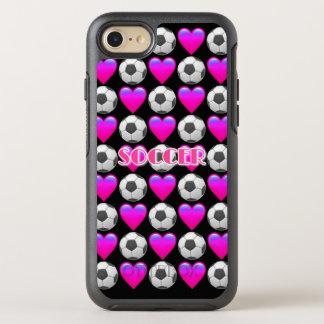 Pink Soccer Emoji iPhone 8/7 Otterbox Case