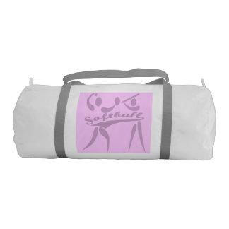 Pink Softball Gym Bag