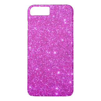 Pink Sparkle Glittery iPhone 7 Cases Sparkly Girly