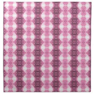 Pink Sparkling Kaleidosope Napkin
