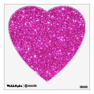 Pink Sparkly Princess Glam Glitter CricketDiane Wall Decal