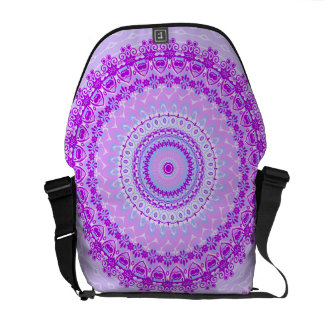 Pink Spice Mandala Kaleidoscope Commuter Bag