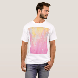 Pink Splatter Watercolour Shirt