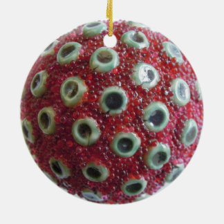 Pink Spots_Red Roe Ornament