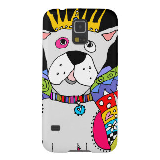 Pink Spotted Dog Angel Galaxy S5 Covers