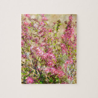 Pink Spray Jigsaw Puzzle