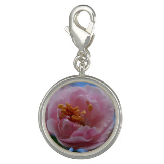 Pink Spring Blossom Photo Charm