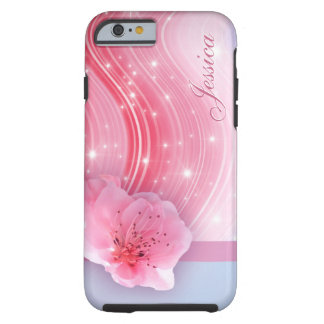 Pink Spring Blossom Tough iPhone 6 Case