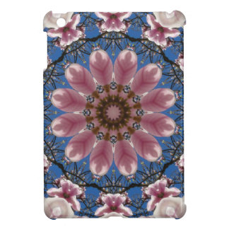 Pink spring blossoms 2.2.2, Nature Mandala Cover For The iPad Mini
