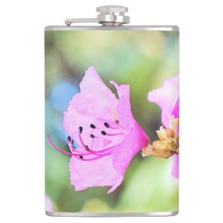 Pink Spring Blossoms Flask