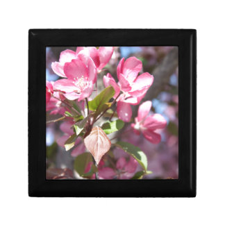 Pink Spring Flower Blossoms Gift Box