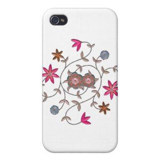 Pink Spring Flower Garden iPhone 4 Cover