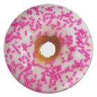 Pink Sprinkles Doughnuts Plate