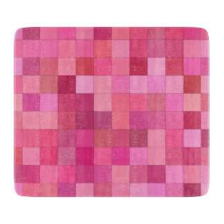 Pink Square Mosaic Boards