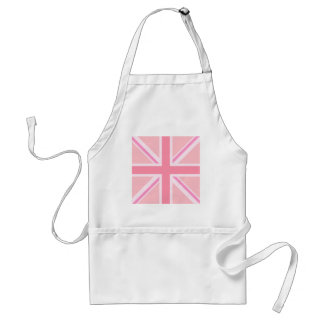 Pink Square Union Jack/Flag Standard Apron
