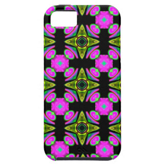 Pink Squared Design iPhone 5 Cover