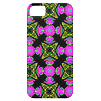 Pink Squared Design iPhone 5 Covers