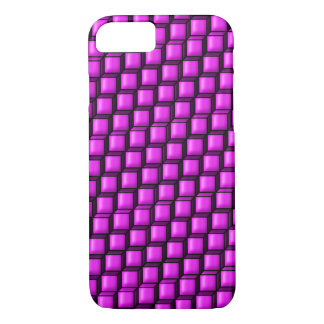 Pink Squares Barely There iPhone 7 Case