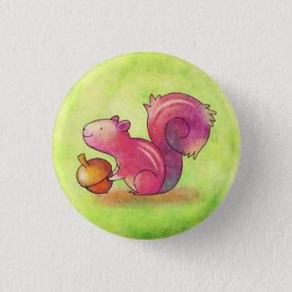 Pink Squirrel Button