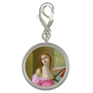Pink St. Agatha (M 003) Charm