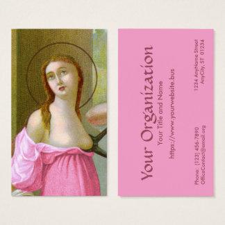 Pink St. Agatha (M 003) FB Standard Business Card