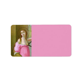 Pink St. Agatha (M 003) Label