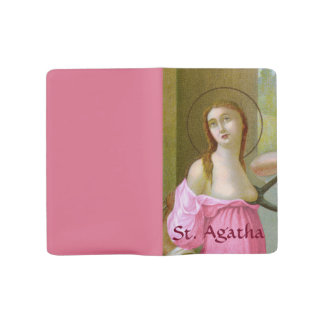 Pink St. Agatha (M 003) Large Moleskine Notebook
