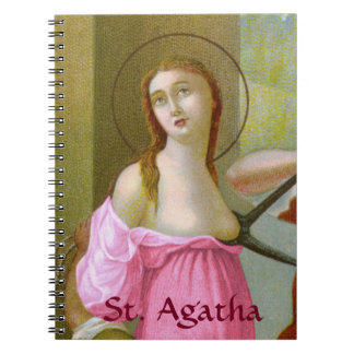 Pink St. Agatha (M 003) Notebook