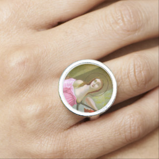 Pink St. Agatha (M 003) Photo Rings