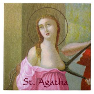 Pink St. Agatha (M 003) Tile