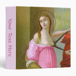 Pink St. Agatha (M 003) Vinyl Binders
