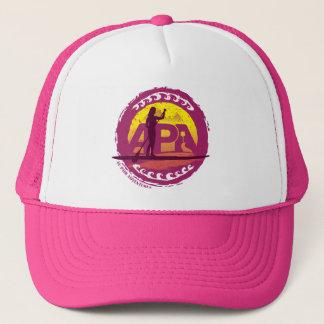 Pink Stamp Hat