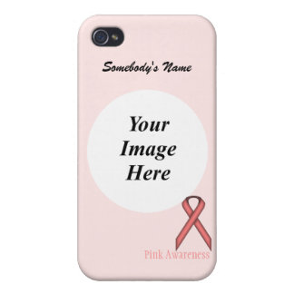Pink Standard Ribbon by Kenneth Yoncich iPhone 4/4S Covers