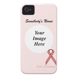 Pink Standard Ribbon by Kenneth Yoncich iPhone 4 Cover