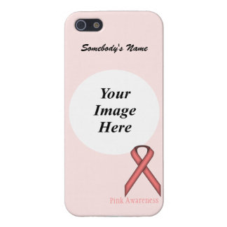 Pink Standard Ribbon by Kenneth Yoncich iPhone 5/5S Case