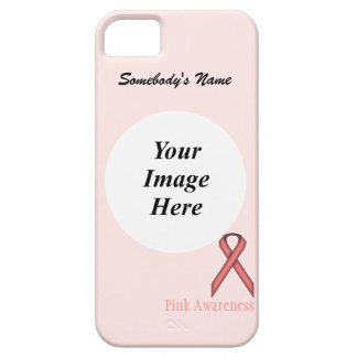 Pink Standard Ribbon by Kenneth Yoncich iPhone 5 Case