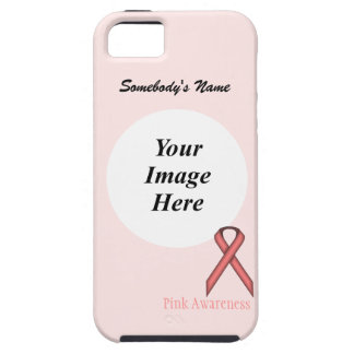 Pink Standard Ribbon by Kenneth Yoncich iPhone 5 Covers