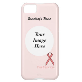 Pink Standard Ribbon by Kenneth Yoncich iPhone 5C Cases