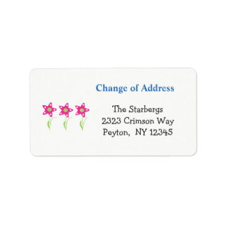 Pink Star Flowers Home Address