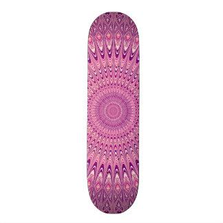 Pink star mandala skateboards