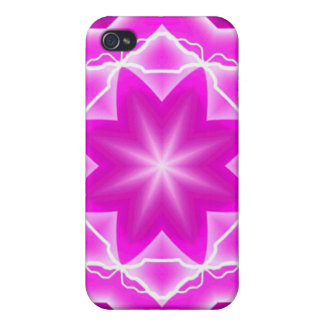Pink Star Psyche Cases For iPhone 4