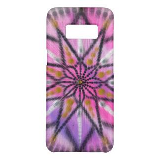 Pink Starburst - Floral Mandala - love phone case