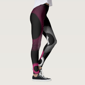 Pink Starburst Leggings