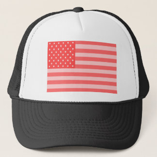 Pink Stars and Stripes Trucker Hat