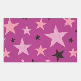 Pink Stars Pattern 2