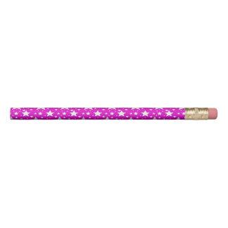 Pink Stars Pencil